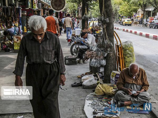 دستفروشان خیابان انقلاب