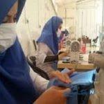 کارآفرینی زن کارآفرین موفق مهابادی در زمینه تولیدات داخلی