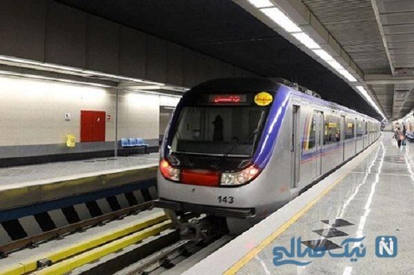 تصویری جالب از مترو سواری سفیر چین در ایران