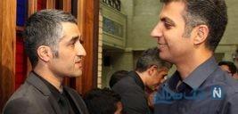 سلفی پژمان جمشیدی با فردوسی پور در پشت صحنه یک تئاتر