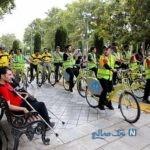 معلولان تهرانی در سه شنبه های بدون خودرو
