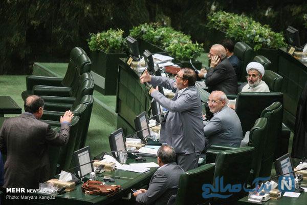 حاشیه های تصویری از صحن علنی مجلس شورای اسلامی