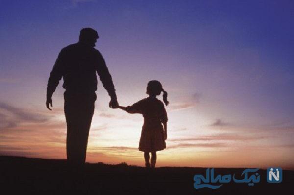 در مترو صحنه ایی جالب از عشق پدر به دختر همه را تحت تاثیر خود قرار داد!