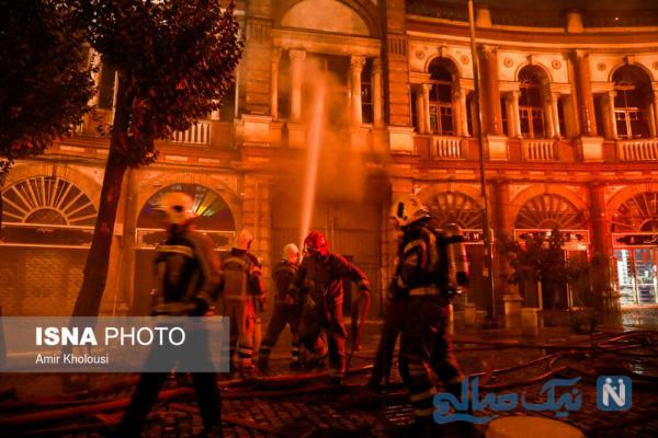 آتش سوزی حسن آباد