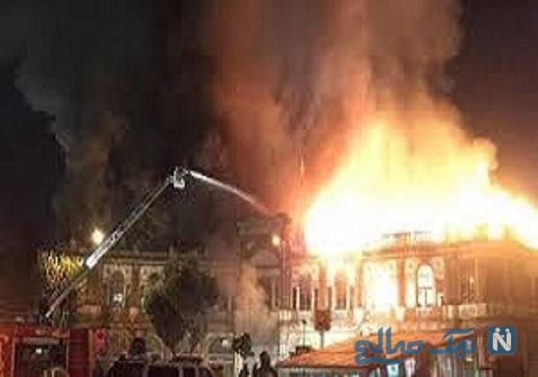 دلیل اصلی آتش سوزی حسن آباد مشخص شد!