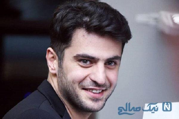 علی ضیا در برنامه زنده ادای احمدی نژاد را در آورد!