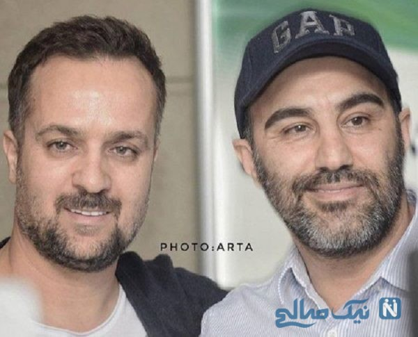 تصاویری جالب از محسن تنابنده و احمد مهرانفر در مولن روژ