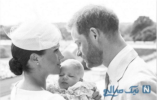 غسل تعمید نوه جدید خاندان سلطنتی بدون حضور ملکه