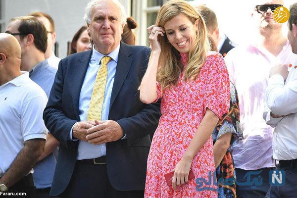 همسر نخست وزیر انگلیس