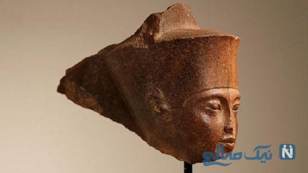 فروش مجسمه سر فرعون در حراجی لندن
