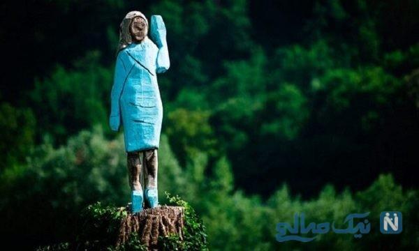 مجسمه ملانیا ترامپ