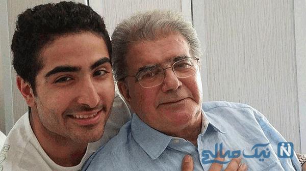عکسی دیده نشده از محمدرضا شجریان و پسرش
