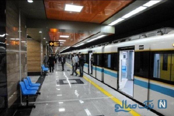 مرگ جوان ۲۵ ساله در ایستگاه متروی فردوسی تهران