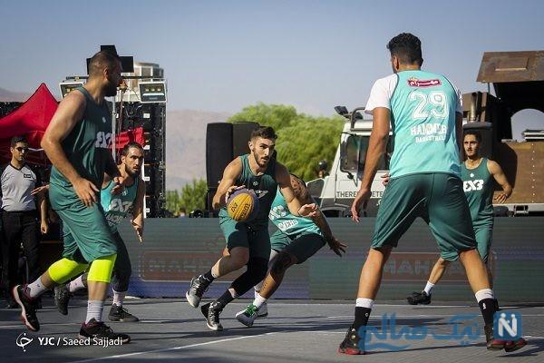 مسابقات بسکتبال خیابانی