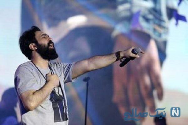 مونا برزویی ترانه سرای ایرانی در کنسرت مهدی یراحی