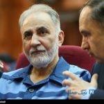 دست به اسلحه شدن نجفی در دادگاه