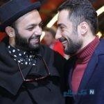 اولین عکس از نوید محمدزاده و صابر ابر در سریال قورباغه