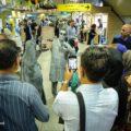 هنر اجرای مفهومی با موضوع عفاف و حجاب در متروی تهران