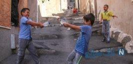 پر کردن اوقات فراغت کودکان در تبریز به سبک دهه ۶۰