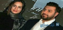 پست جدید احسان خواجه امیری برای تبریک تولد همسرش