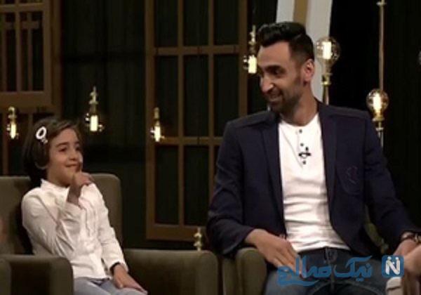 پوریا فیاضی و دخترش