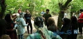کارآفرینی در روستای کمدره توسط یک خانواده با عروس جنگل