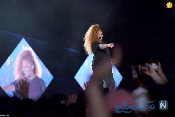 کنسرت موسیقی در عربستان