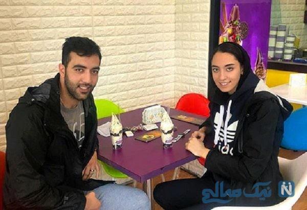 کیمیا علیزاده تکواندوکار ایرانی هم عروس شد!