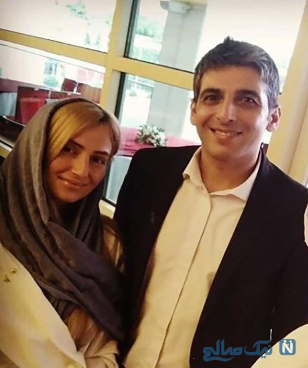حمید گودرزی و همسر جدیدش