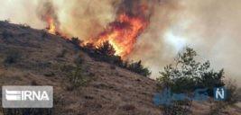 آتش سوزی در جنگل های ارسباران مهار شد؟