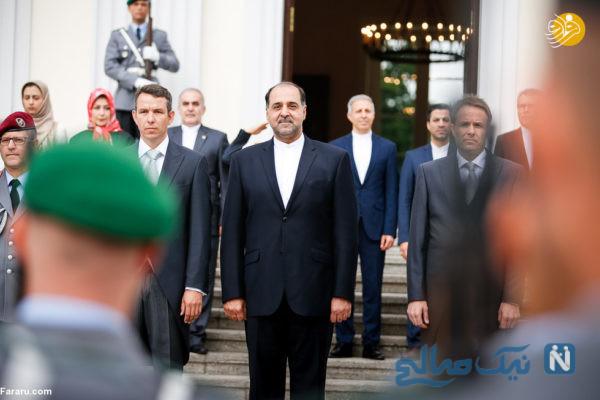 استقبال رئیس جمهور