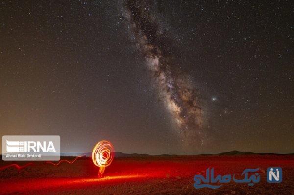 بارش شهابی برساوشی در آسمان چهارمحال و بختیاری