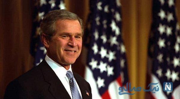 بدل جرج بوش در مراسم حج امسال همه را شگفت زده کرد!
