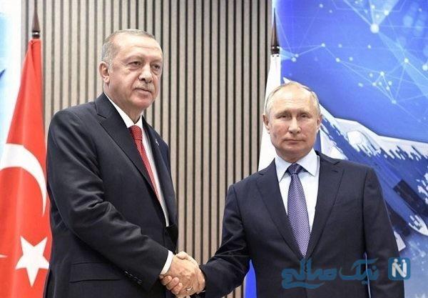 بستنی خوردن پوتین و اردوغان سوژه رسانه ها شد!