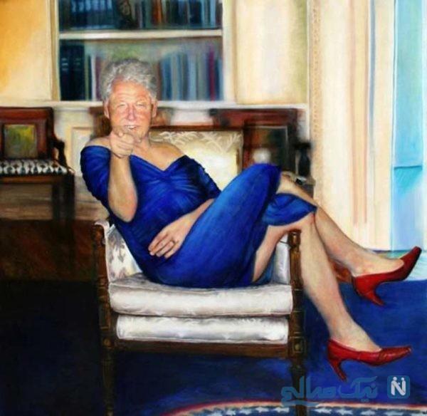 بیل کلینتون رئیس جمهور سابق آمریکا