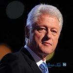 بیل کلینتون رئیس جمهور سابق آمریکا با لباس زنانه
