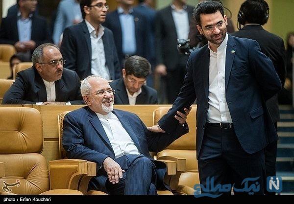 تحریم جواد ظریف و واکنش آذری جهرمی به این موضوع