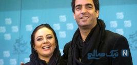 تبریک تولد منوچهر هادی توسط همسرش