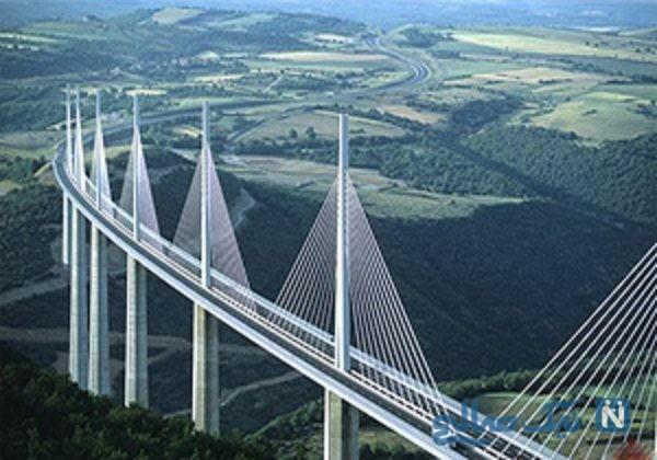 ویدئویی جالب از جانمایی سنگین ترین پل جهان در شمال چین