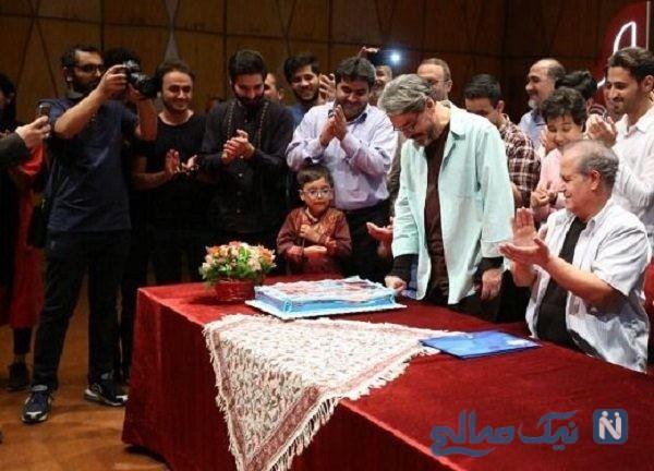 جشن تولد حسین علیزاده