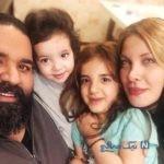 تولد رضا صادقی در ۴۰ سالگی به همراه دخترانش