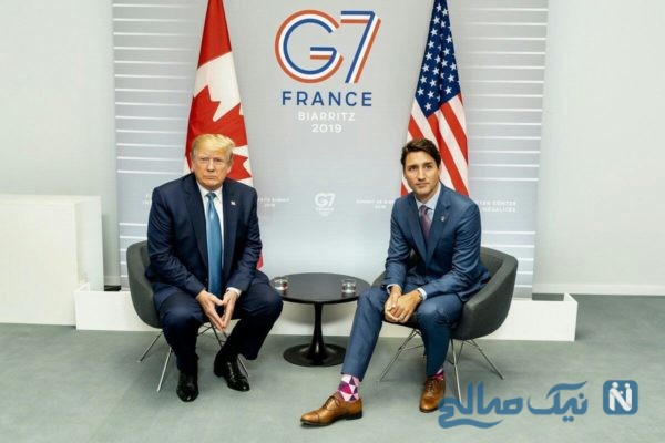 جوراب های نخست وزیر کانادا