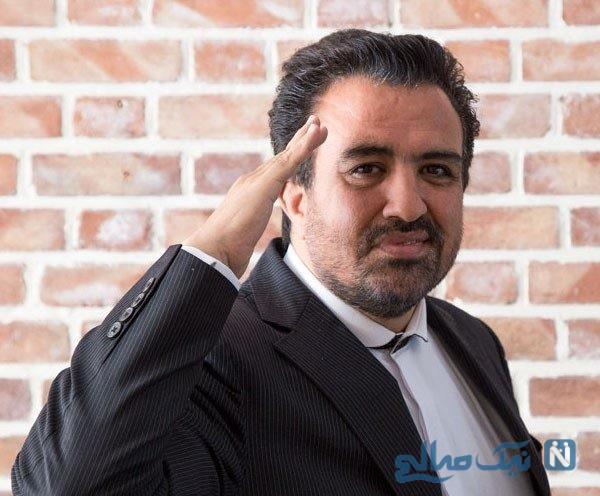 حسینی بای خبرنگار ایرانی چرا تا کمر وارد سیل شد؟