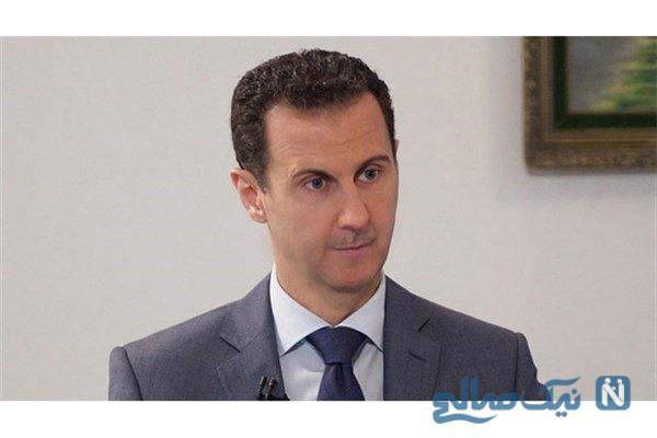 حضور بشار اسد در نماز عید قربان امسال در دمشق