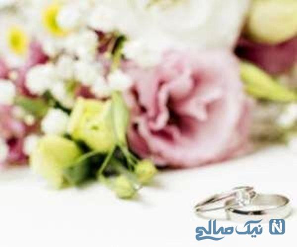 حلقه ازدواج عروس که غم انگیز ترین حلقه ازدواج جهان شد!