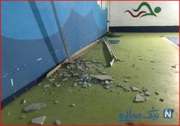 خسارت های زمین لرزه چرام و تعداد مصدومان حادثه
