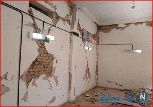 خسارت های زمین لرزه