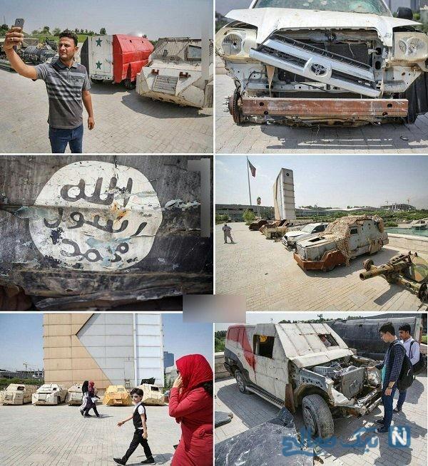 خودروهای انتحاری داعش