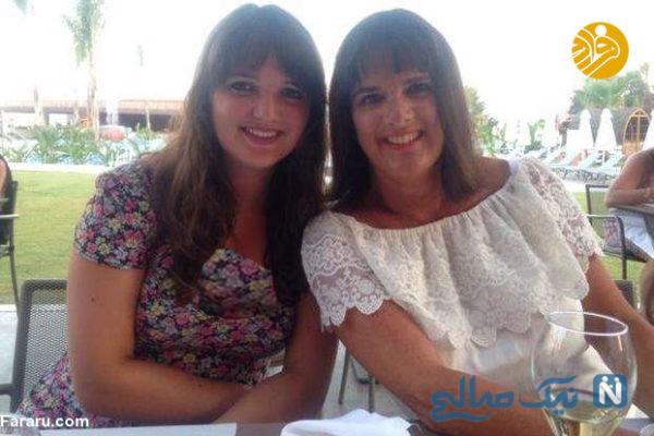 شباهت مادر و دختر