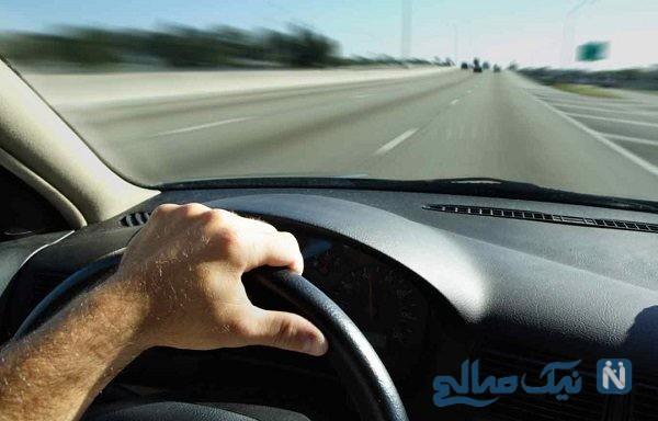 تنبیه راننده بی فرهنگ توسط یک راننده زن خبرساز شد!
